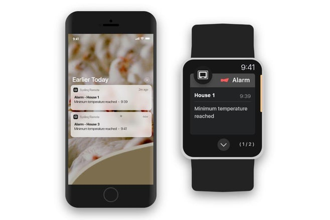 Iphone smartwatch notifications syslinq remote 2