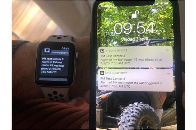 Notifications Smartphone Smartwatch test