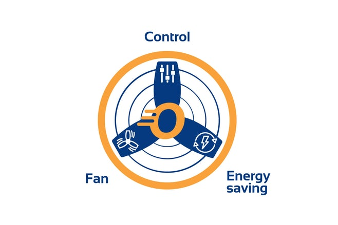 Orange Fan Control with titles