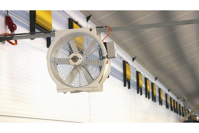 Poultry Recirculation fan
