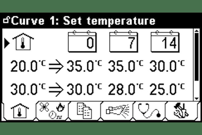Vloertemperatuur regeling ENG
