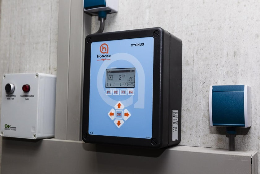 Climate control without measuring fans NL1