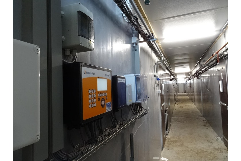 Netherlands5 Thomas Smart Flow maintains optimal climate for fattening pigs