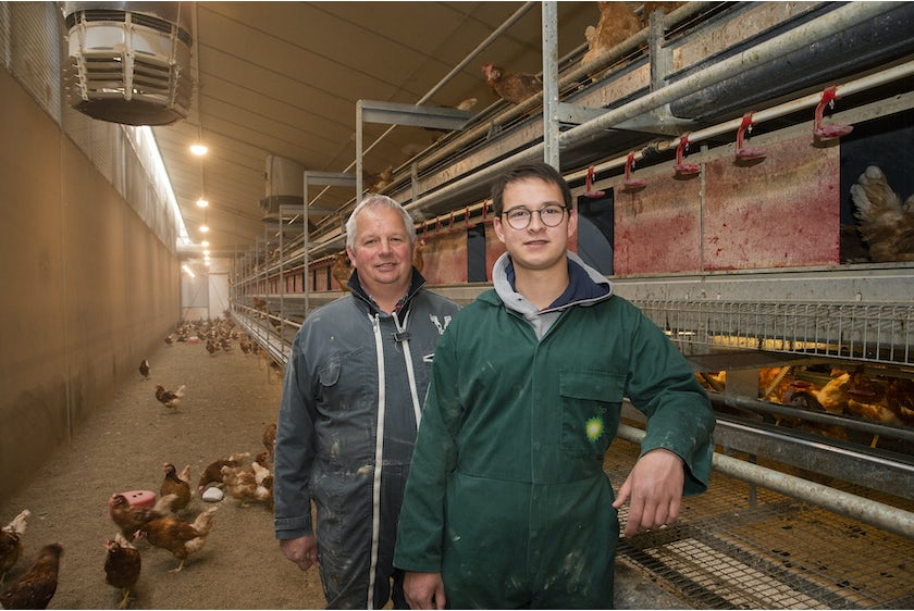 Belgian family Baudoin opens modern organic poultry house in Wallonia13