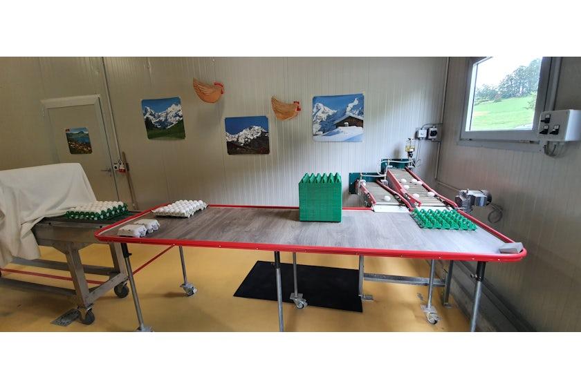 Bio Legehennenstall in der Schweiz2