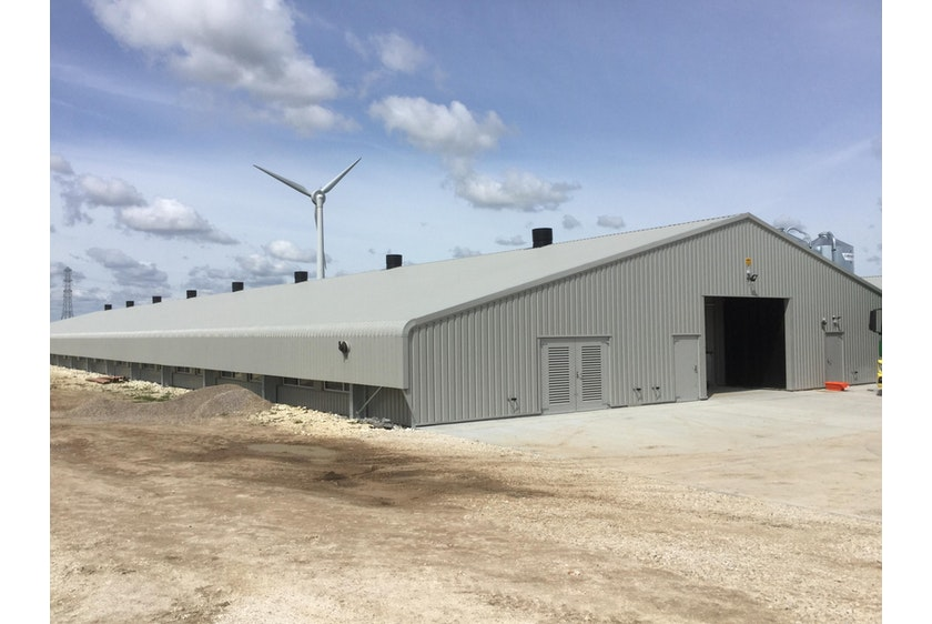 England5 Broiler houses in England automated with Fortica system