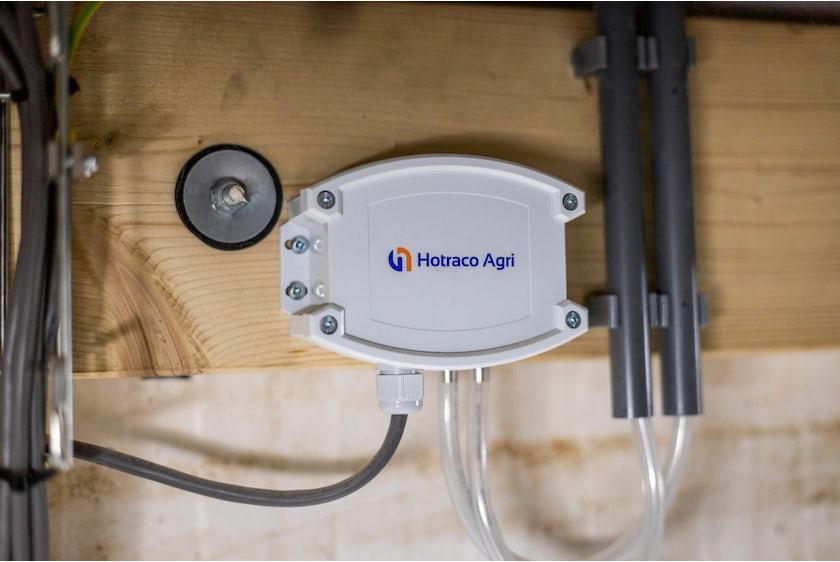 Hotraco vanleendert pluimvee klimaat onderdruksensor