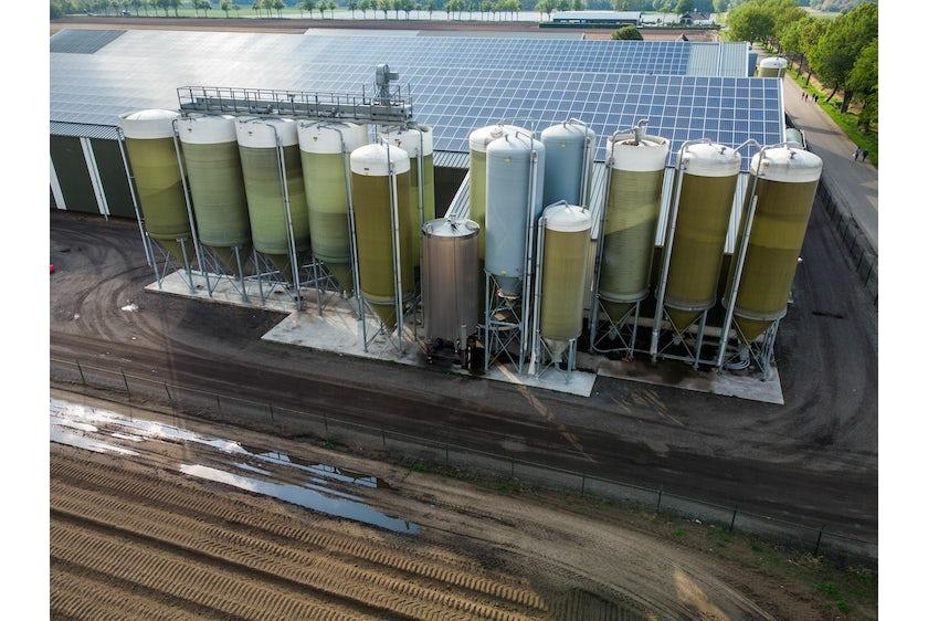 Hotraco vanleendert pluimvee silos