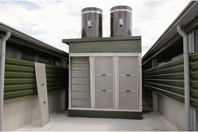 Netherlands8 Two new modern broiler houses