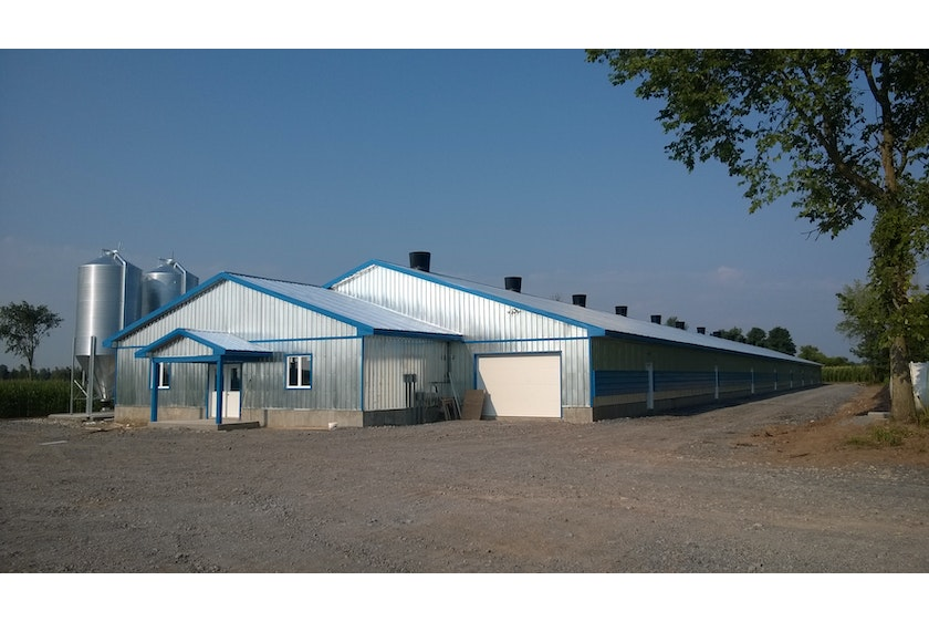Canada1 New broiler house in Canada