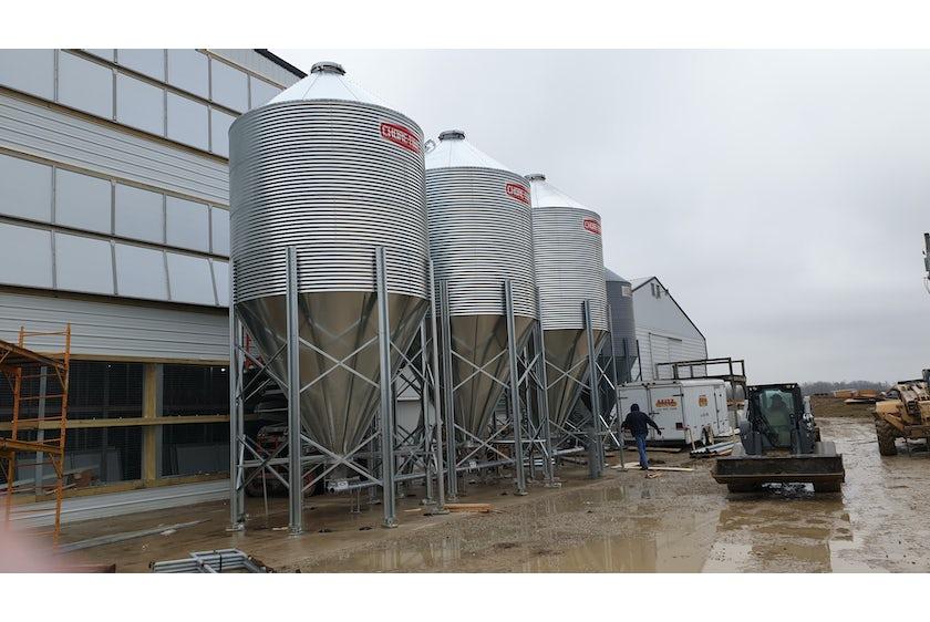 USA new layer farm in de US 3 floor avairy 7