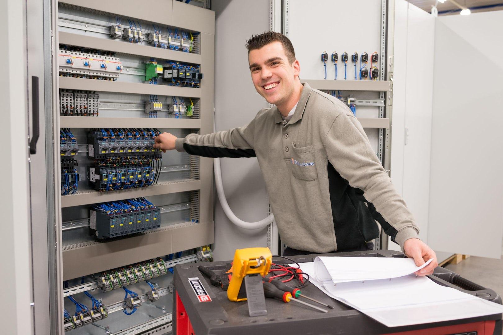 Industrial service onderhoud