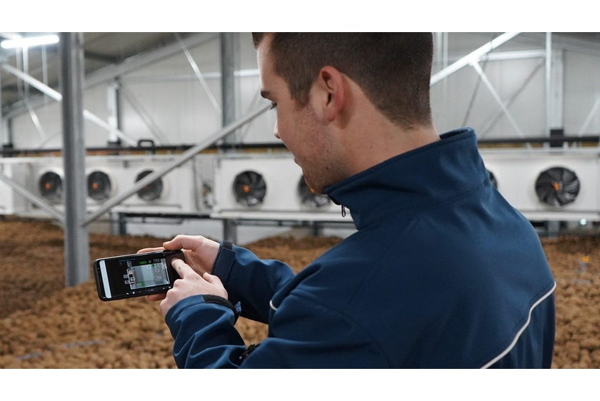 Remote application young farmer
